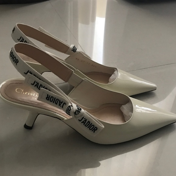 23dcf2180a9 Dior Shoes - J adior Christian Dior white kitten heels 2018